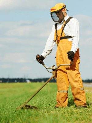 weed wacker safety talk