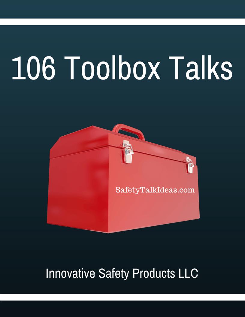 Toolbox Talk E Book Safety Talk Ideas