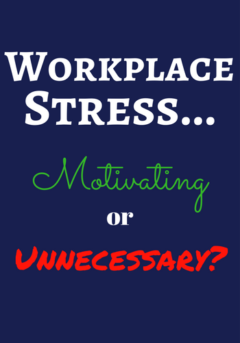 two types of workplace stress