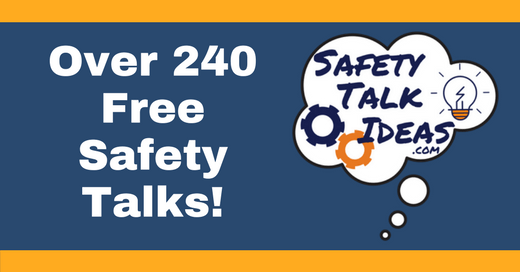 safety talks toolbox topics hundreds of free safety talk ideas