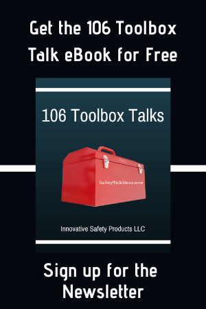 Safety Toolbox Talk eBook