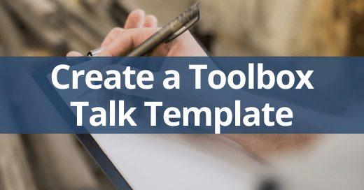 toolbox talk template