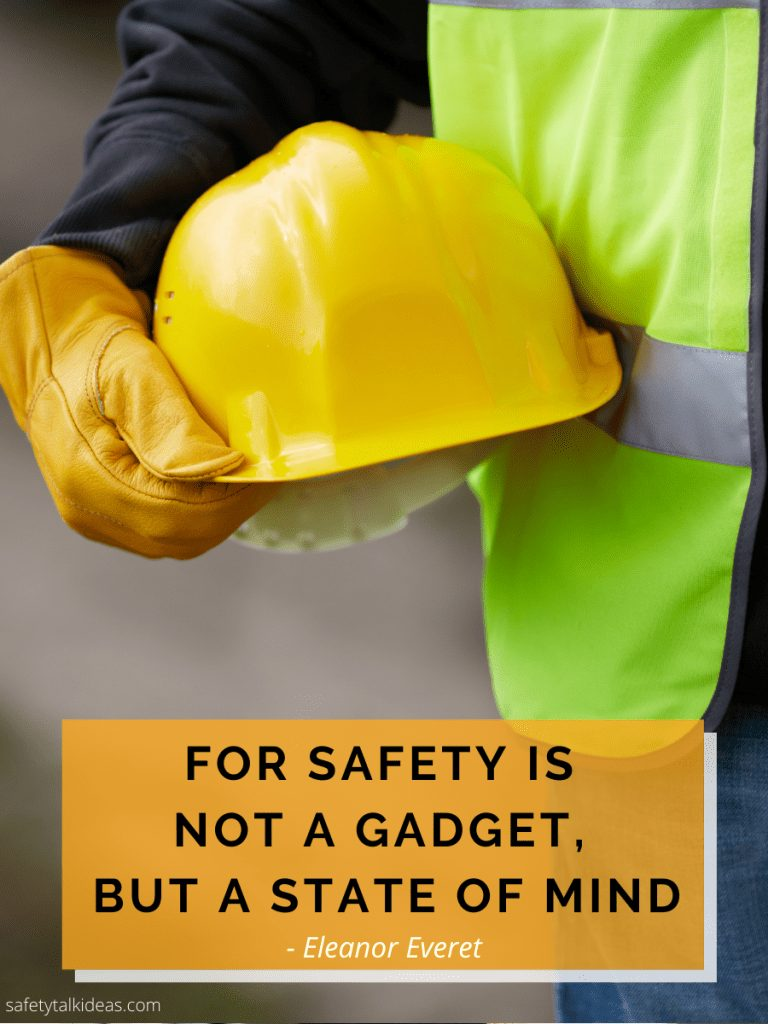 free safety mindset quote poster thumbnail