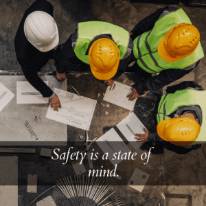 safety is a state of mind quote