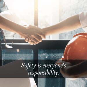 safety is everyones responsibility quote