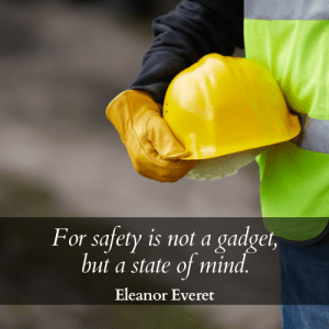 safety state of mind quote