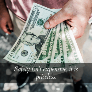 the value of safety quote