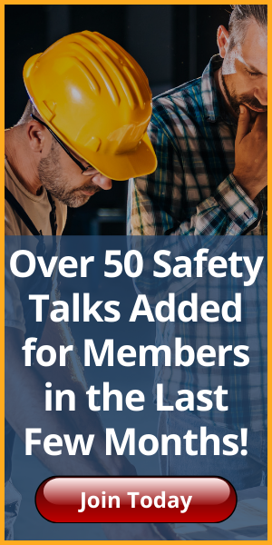 member safety talks ad