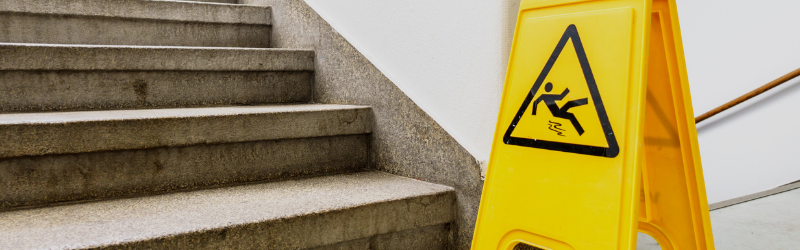 slip trip and fall hazards in warehouses